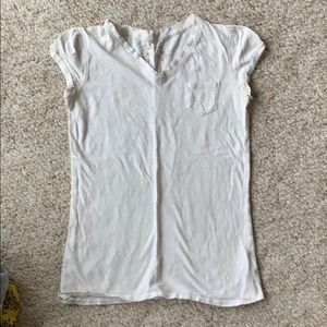 Mossimo Supply Co. - white v-neck t-shirt